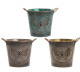 Antique Butterfly Planter Small  Available in 3 Colours LP42122